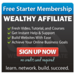 Get Started with Wealthy Affiliate